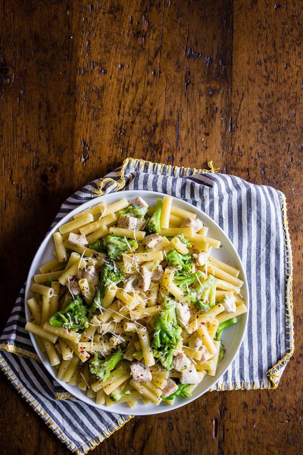 Chicken Broccoli Ziti  chicken broccoli ziti wine sauce