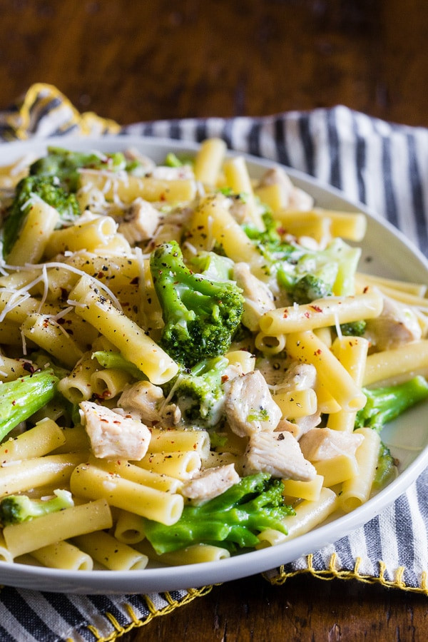 Chicken Broccoli Ziti  ziti chicken and broccoli