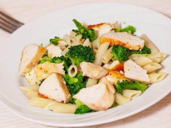 Chicken Broccoli Ziti  Ziti with Chicken Broccoli and Cheese Recipe