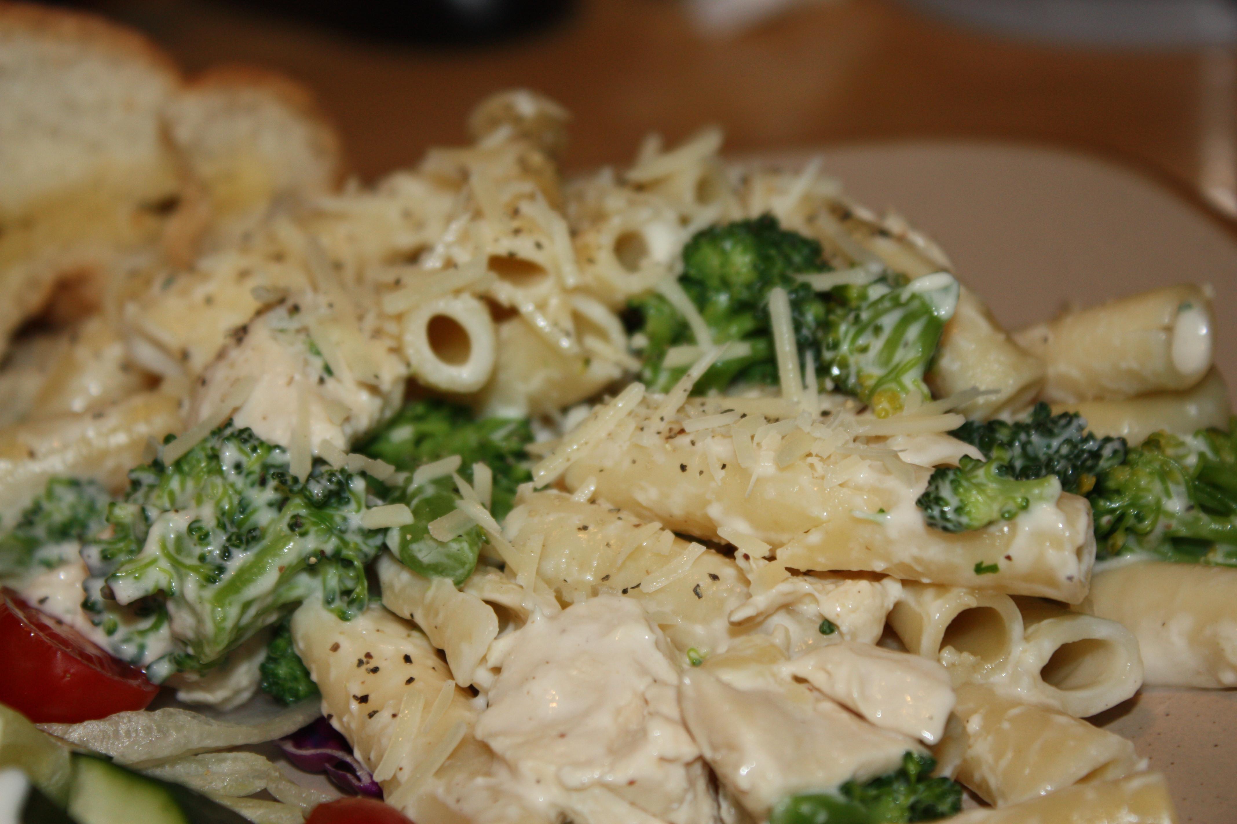 Chicken Broccoli Ziti  ziti chicken and broccoli garlic sauce