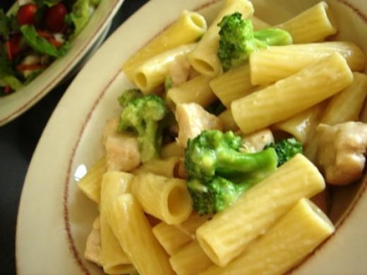 Chicken Broccoli Ziti  HOME MADE CHICKEN ZITI AND BROCCOLI