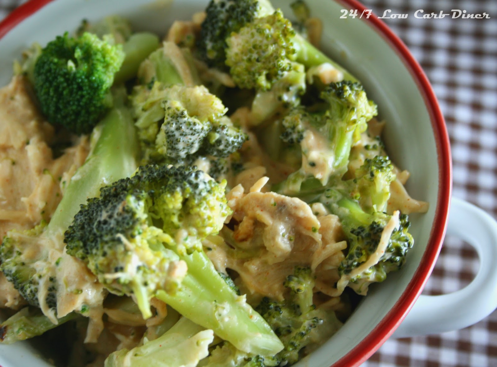 Chicken Brocolli And Cheese Casserole  24 7 Low Carb Diner Chicken and Broccoli Casserole for 2