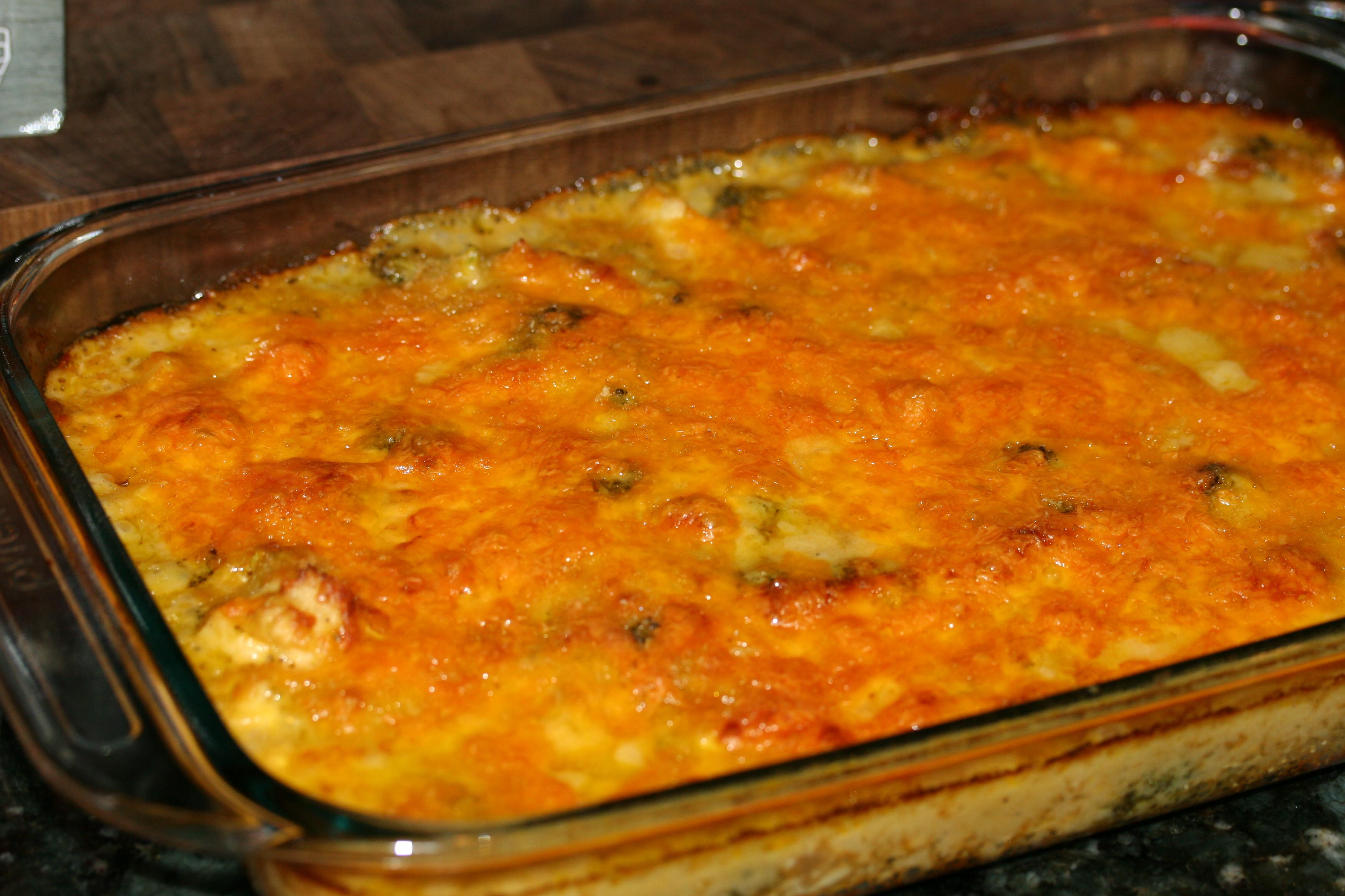 Chicken Brocolli And Cheese Casserole  Chicken Broccoli Cheese Quinoa Casserole