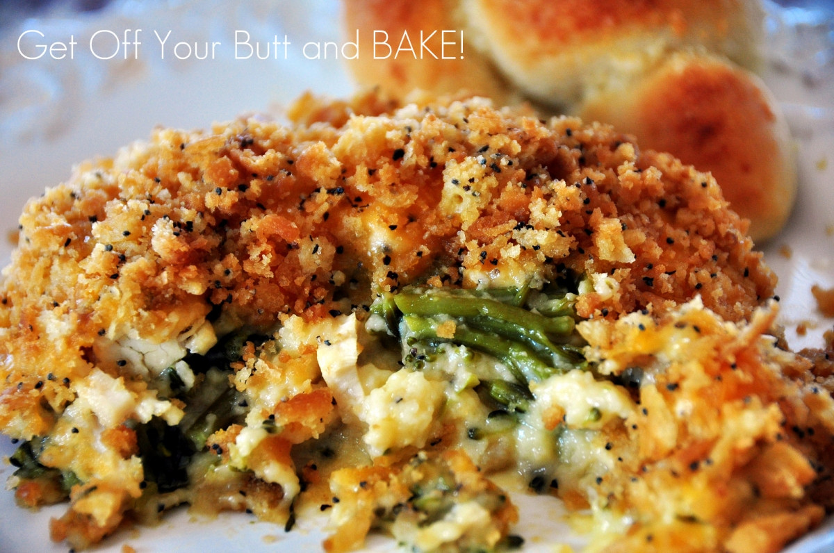 Chicken Brocolli And Cheese Casserole  Chicken Broccoli Supreme Get f Your Butt and BAKE
