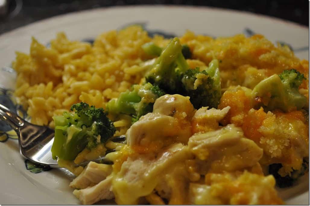 Chicken Brocolli And Cheese Casserole  Chicken and Broccoli Casserole