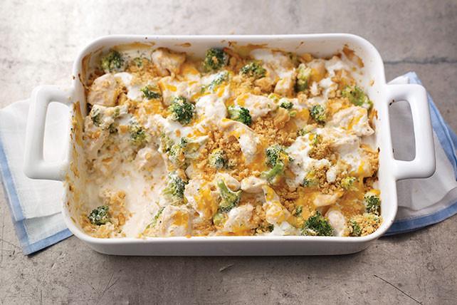 Chicken Brocolli And Cheese Casserole  Chicken Broccoli Casserole Kraft Recipes