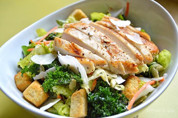 Chicken Caesar Salad  Chicken Kale Caesar Salad