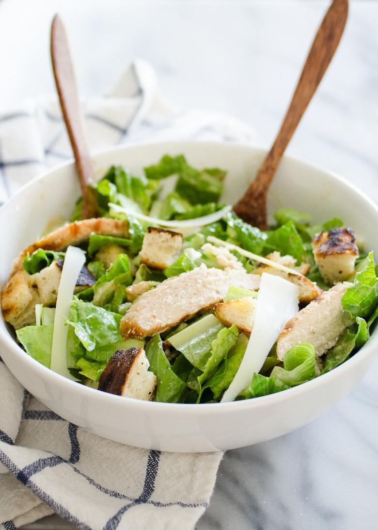 Chicken Caesar Salad  Grilled Chicken Caesar Salad
