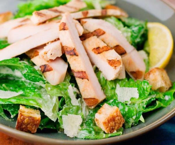 Chicken Caesar Salad Calories  Healthy Chicken Breast Recipes 30 Easy Ideas