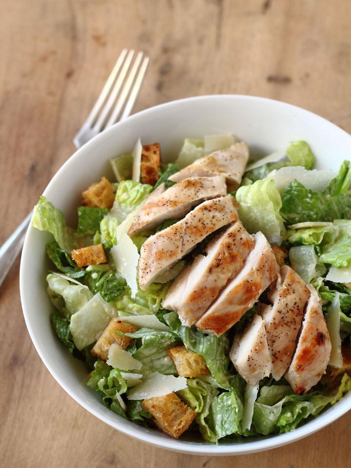 Chicken Caesar Salad  Grilled Chicken Caesar Salad Recipes