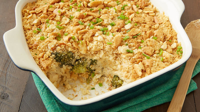 Chicken Casserole With Ritz Crackers  Ritz™ Cracker Chicken Casserole Recipe Pillsbury