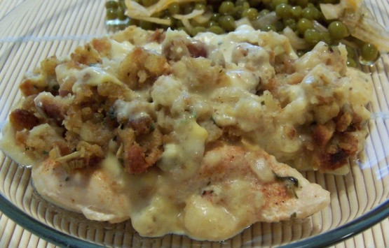 Chicken Casserole With Stove Top Stuffing And Cream Of Mushroom Soup  Chicken Stuffing Bake Recipe Genius Kitchen