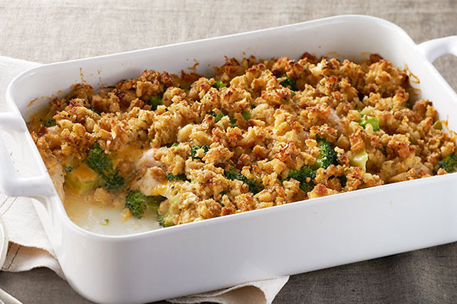 Chicken Casserole With Stove Top Stuffing And Cream Of Mushroom Soup  STOVE TOP Easy Turkey Bake Kraft Recipes
