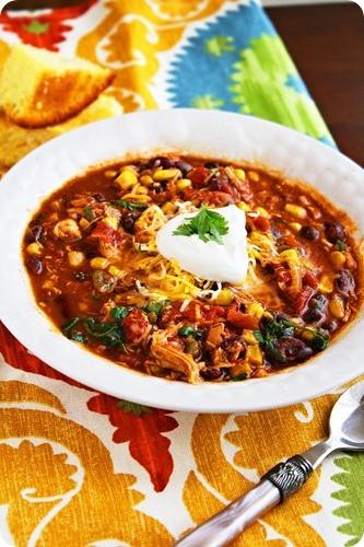 Chicken Chili Crock Pot  Crock Pot Chicken Taco Chili