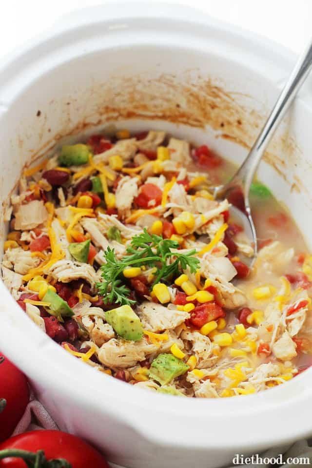 Chicken Chili Crockpot  Crock Pot White Chicken Chili Recipe
