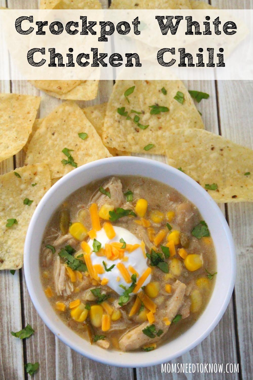 Chicken Chili Recipes  white bean chicken chili recipe