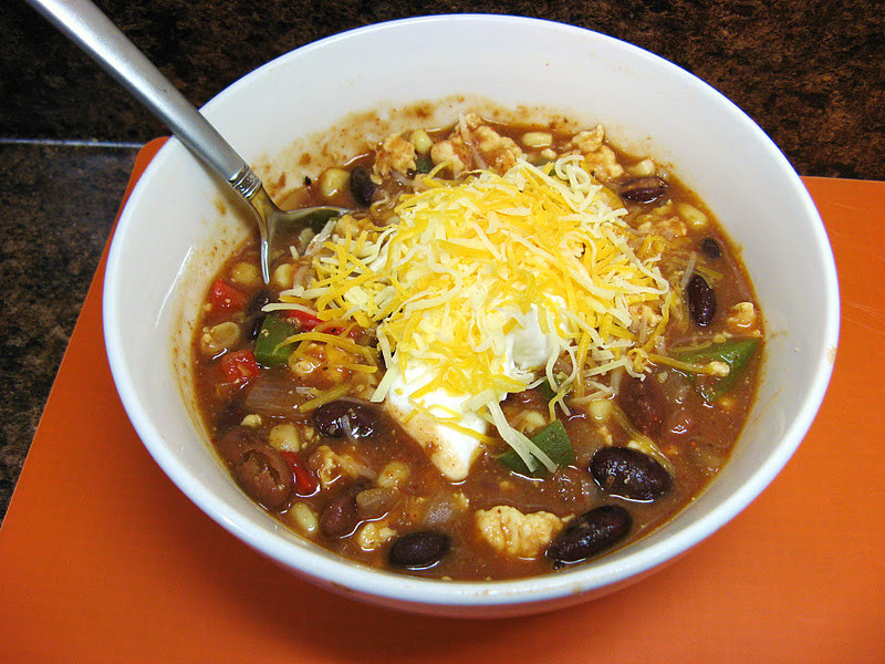 Chicken Chili Soup  The Well Fed Newlyweds Chicken Chili Taco Soup