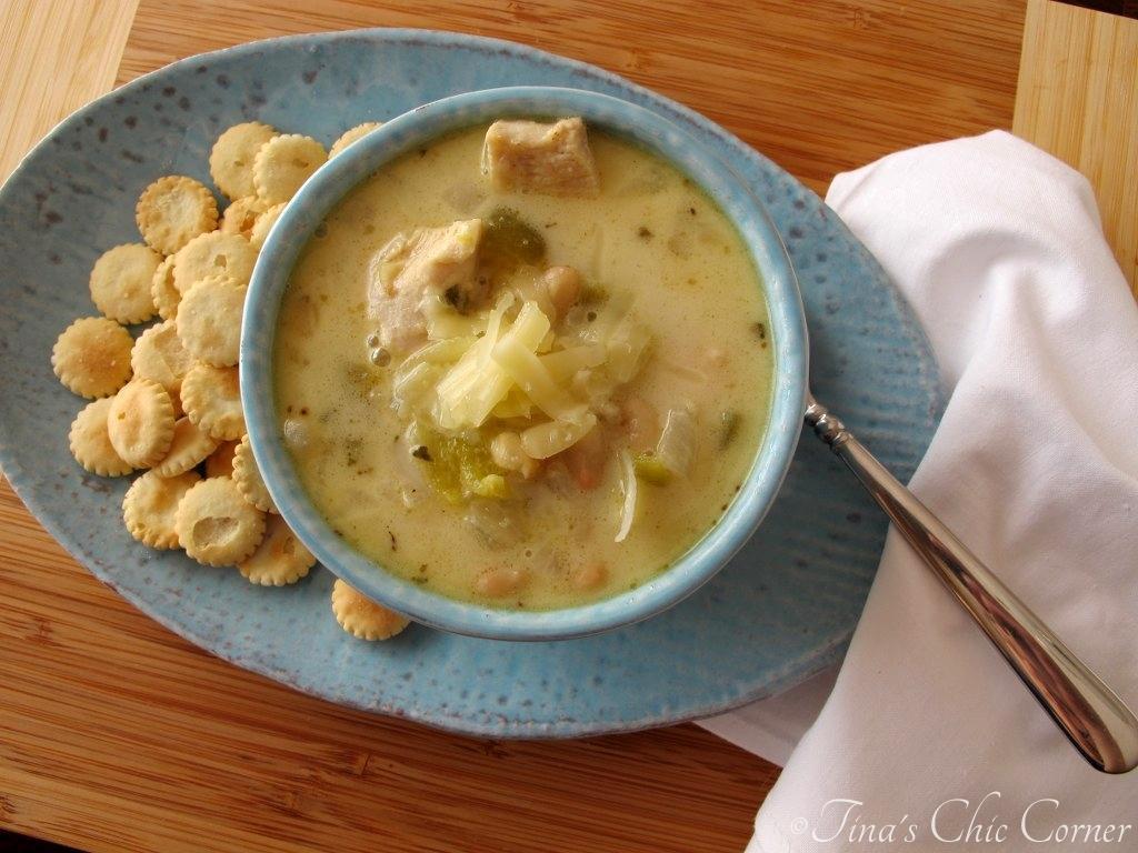 Chicken Chili Soup  Pasta Fagioli Soup – Tina s Chic Corner