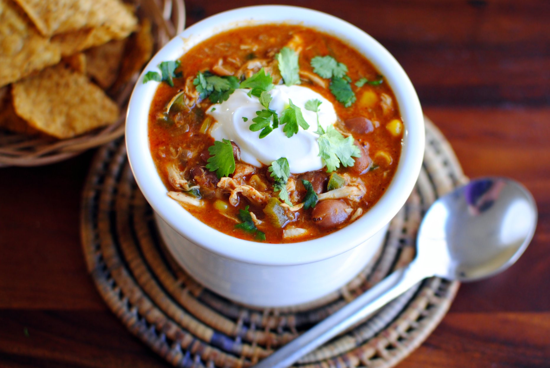 Chicken Chili Soup  Simply Scratch Southwest Chicken Chili Simply Scratch