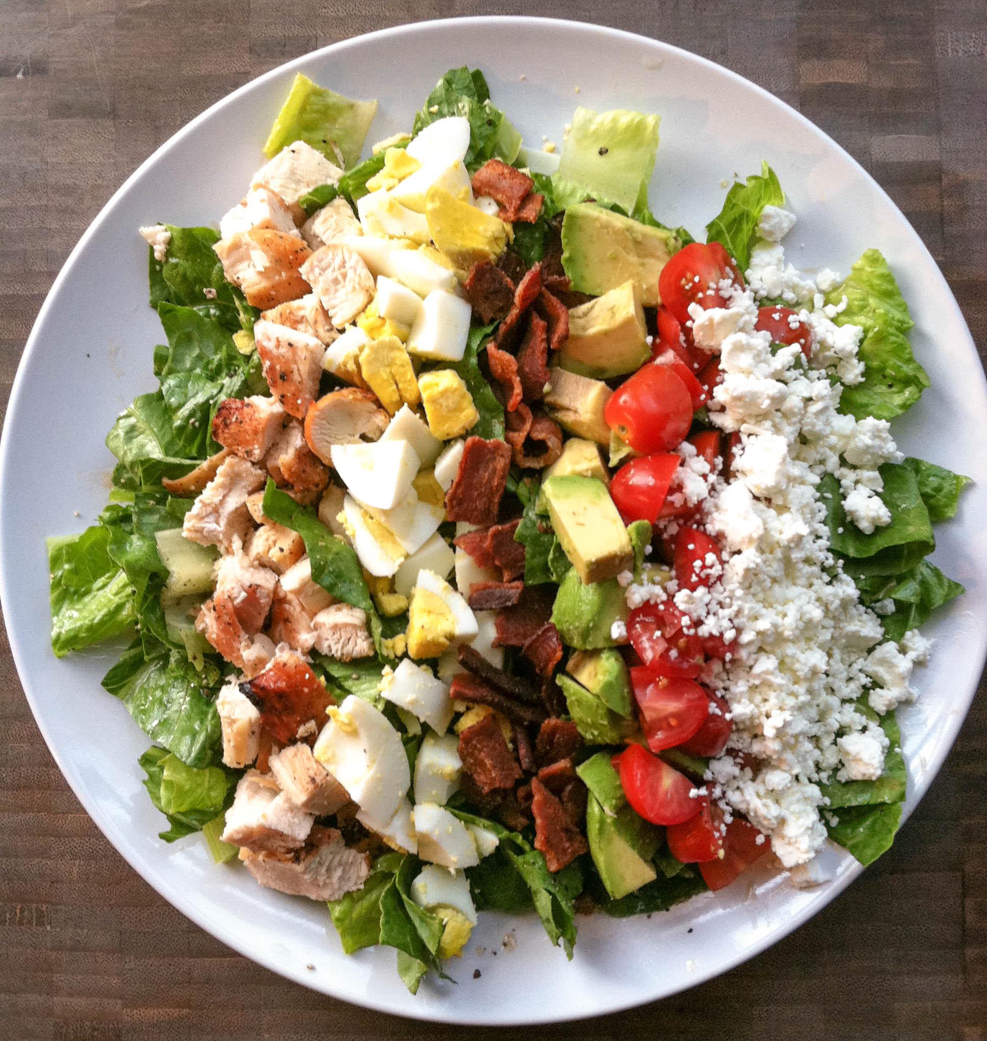 Chicken Cobb Salad  Chicken Cobb Salad