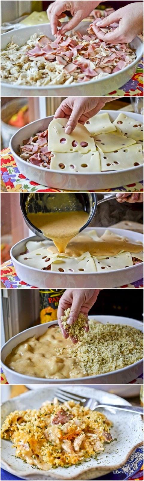Chicken Cordon Bleu Casserole Recipe  50 Healthy Low Calorie Weight Loss Dinner Recipes