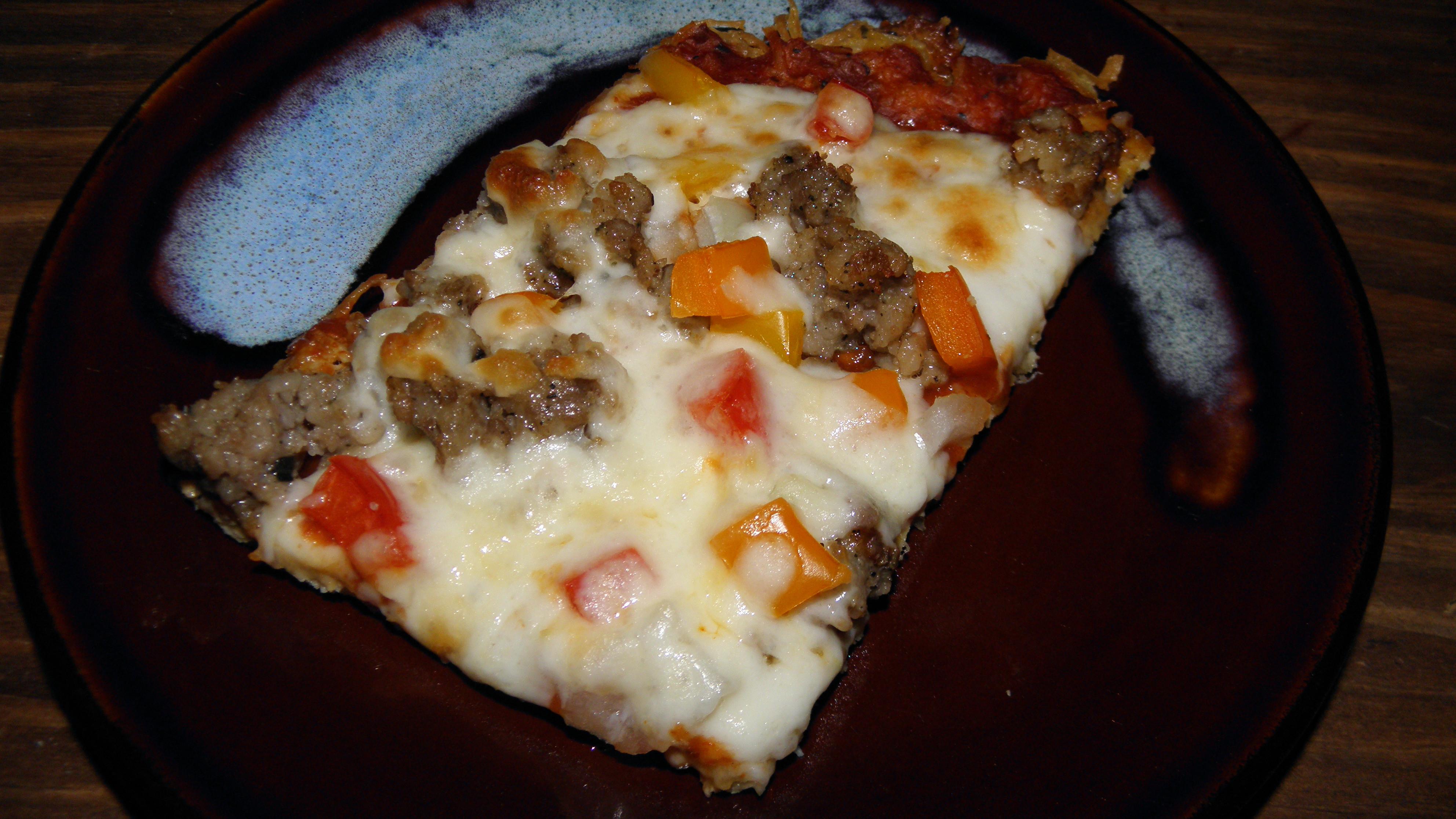 Chicken Crust Pizza Keto  Keto Chicken Crust Pizza Our Homesteading Journey