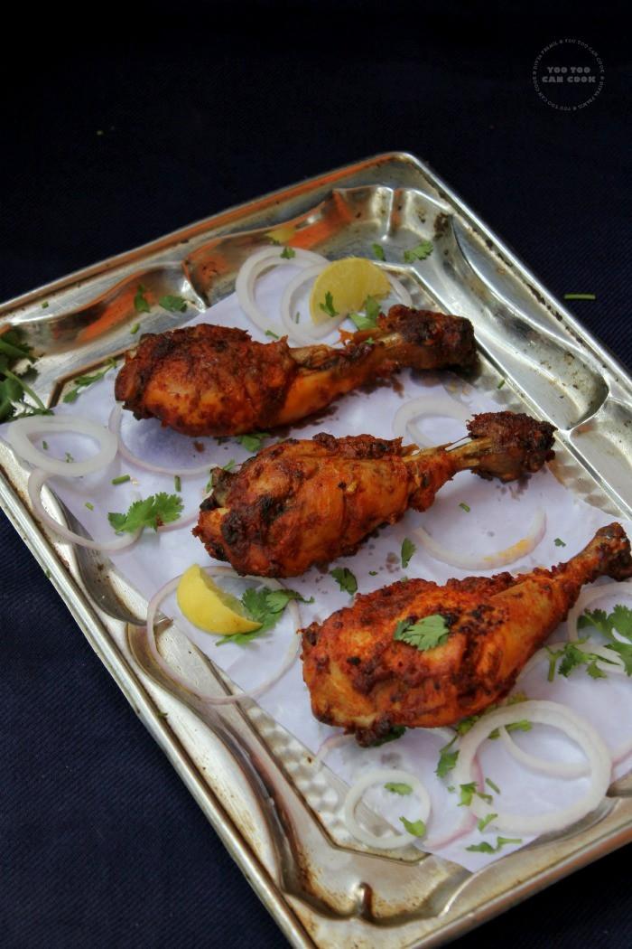 Chicken Drumstick Recipes Indian  Spicy Baked Chicken Drumsticks