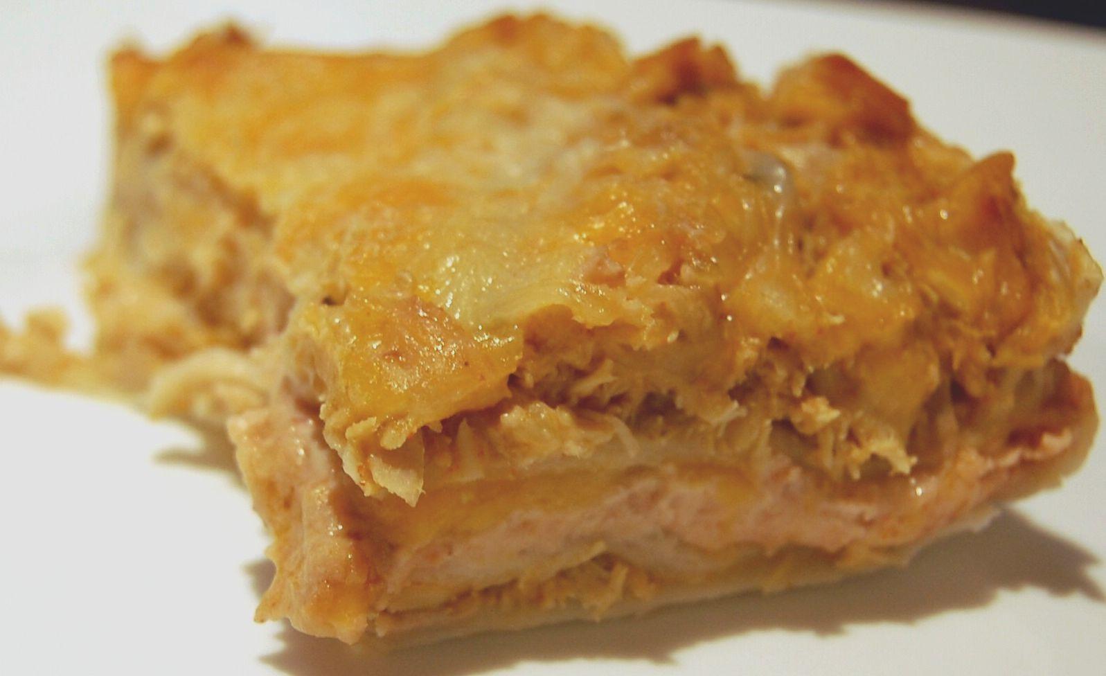 Chicken Enchilada Casserole  Cassie Craves Chicken Enchilada Casserole