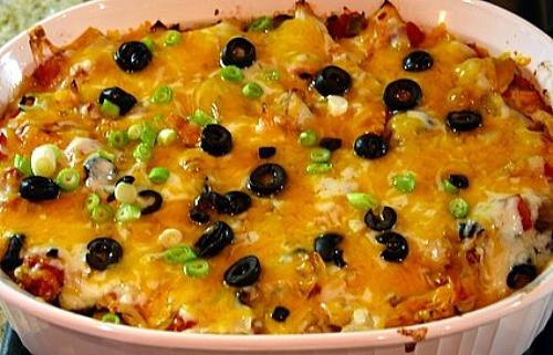 Chicken Enchilada Casserole  Chicken Enchilada Casserole Recipe