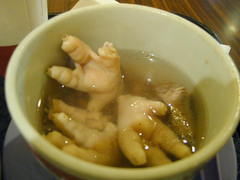 Chicken Feet Soup  Travel food and fun with the Chinese Maiden and The Hong