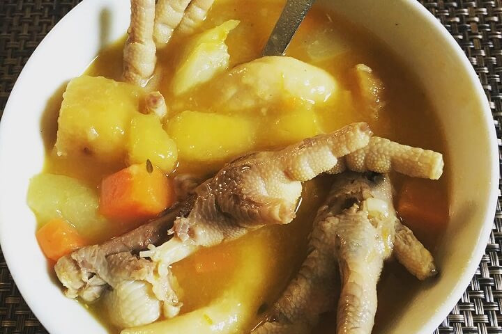 Chicken Feet Soup  Traditional Jamaican Chicken Foot Soup Taste the Islands