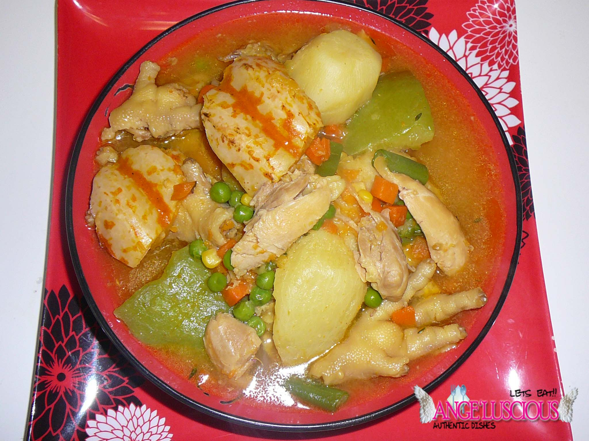 Chicken Feet Soup  Chicken Foot Soup=Food The Champions Angeluscious