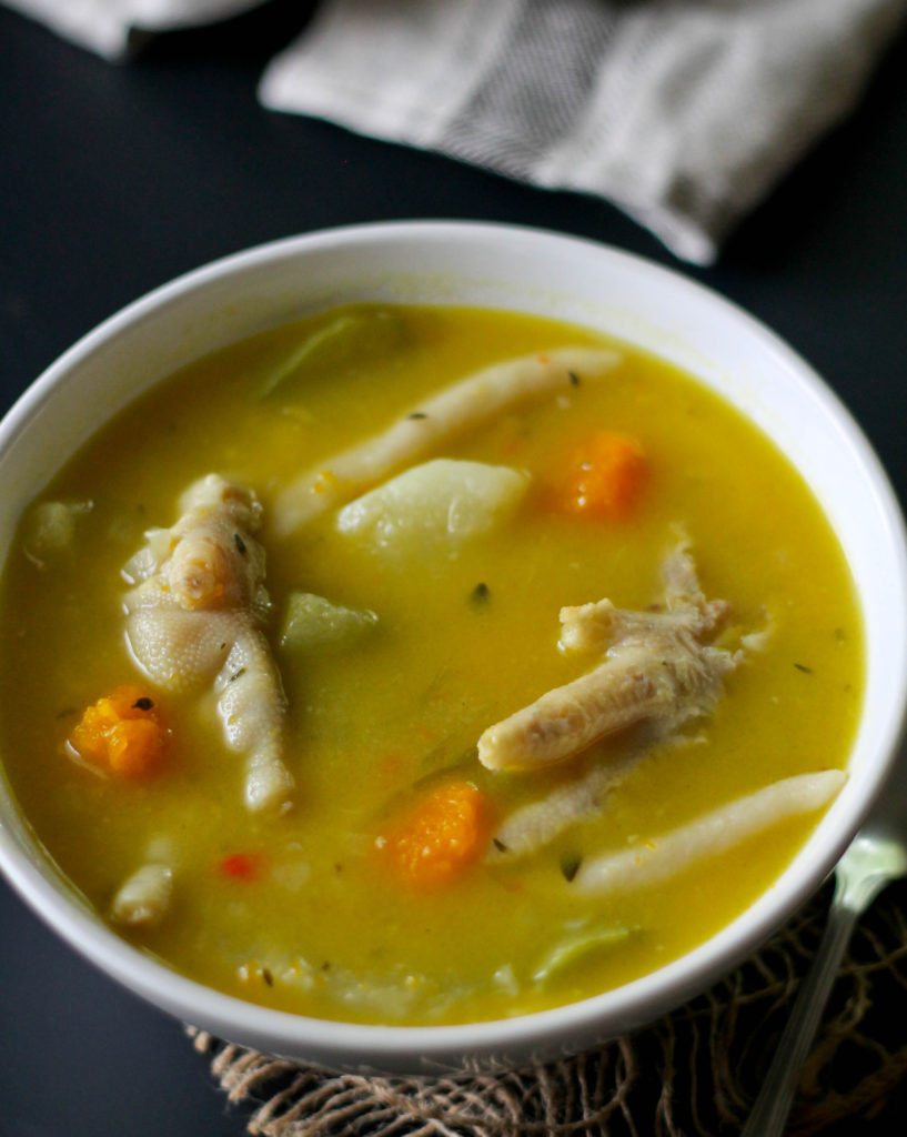 Chicken Feet Soup  CHICKEN FOOT SOUP Jehan Can Cook