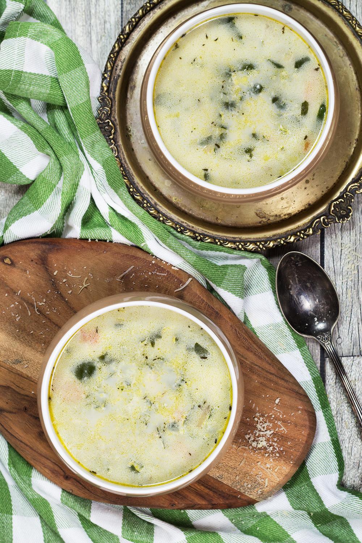 Chicken Florentine Soup  Chicken Florentine Soup Creamy Hearty & Delicious