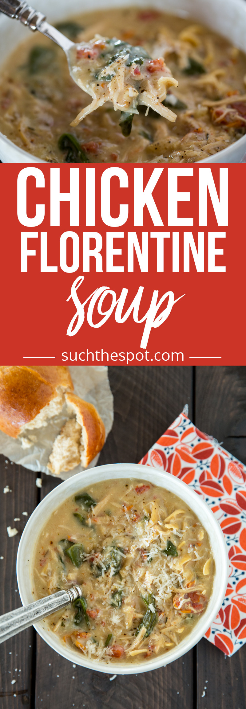 Chicken Florentine Soup  Chicken Florentine Soup