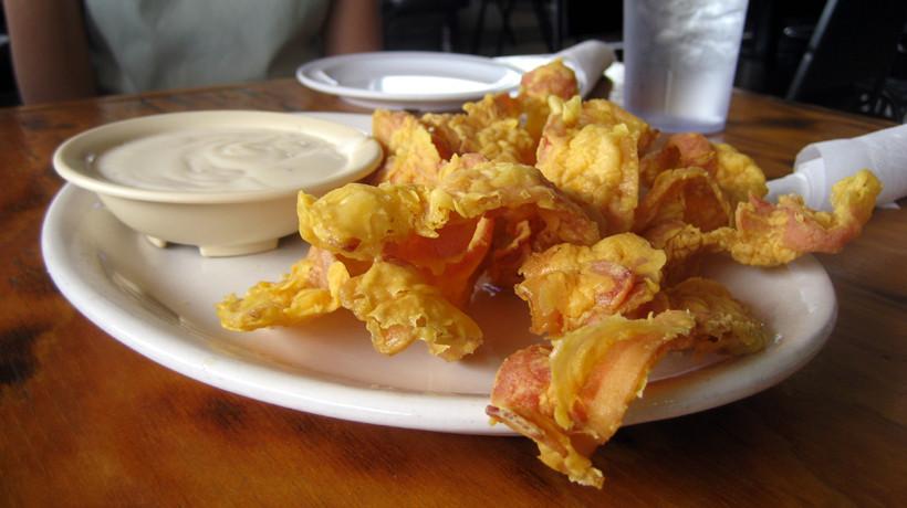 Chicken Fried Bacon  Chicken Fried Bacon Sodolak s Country Inn Snook TX