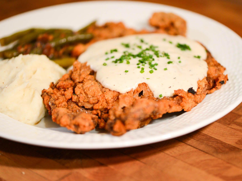 Chicken Fried Chicken  Tender and Beefy Chicken Fried Steak Recipe