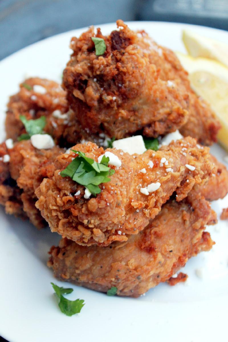 Chicken Fried Chicken  Greek Fried Chicken Creole Contessa