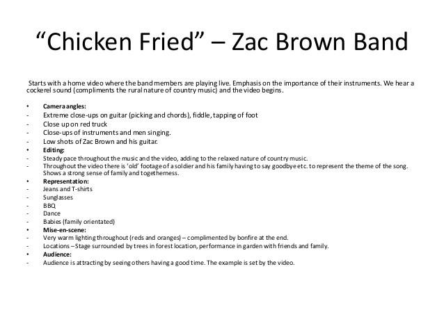 Chicken Fried Chords  Country Folk Music