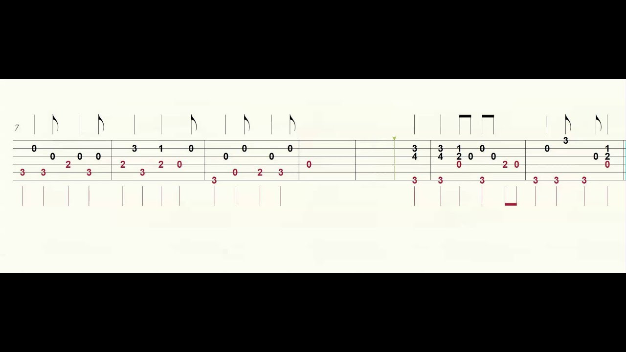 Chicken Fried Chords  Six String Country