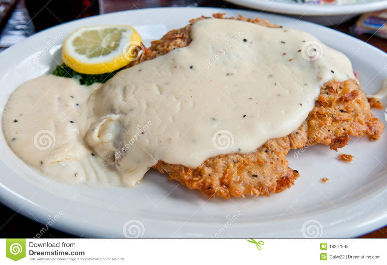 Chicken Fried Steak  Chicken Fried Steak Royalty Free Stock Image