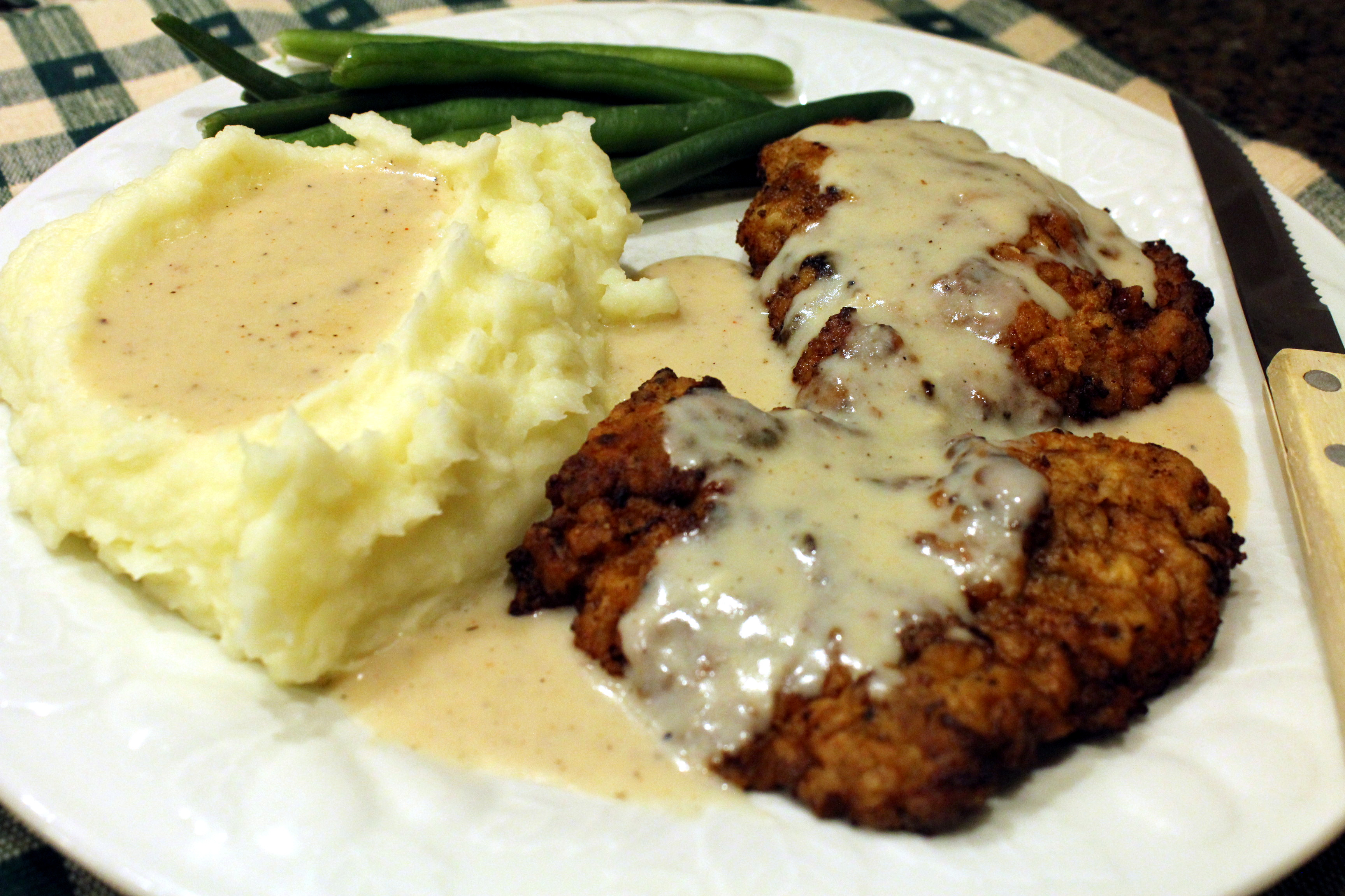Chicken Fried Steak  Texas Chicken Fried Steak with all the Fixin's