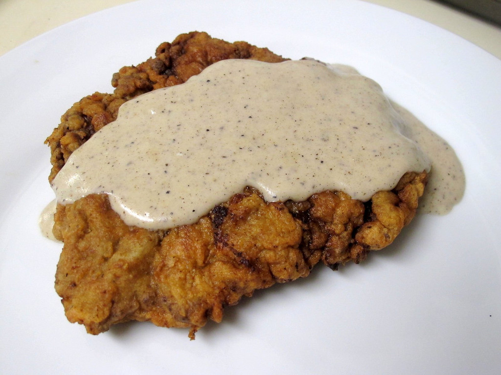 Chicken Fried Steak  Oklahoma State Meal