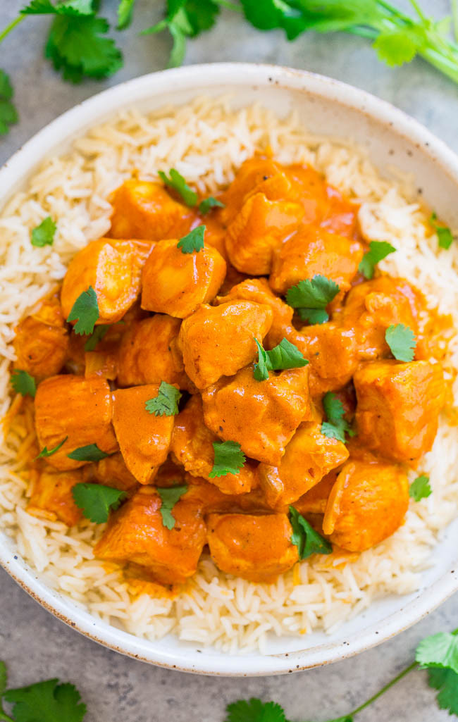 Chicken Indian Recipes  Indian Butter Chicken Averie Cooks