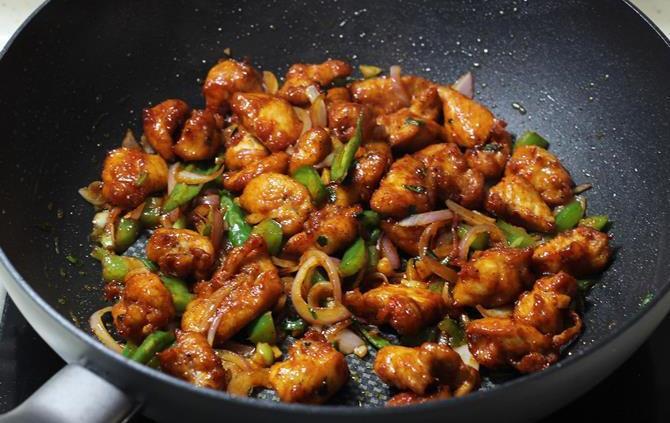 Chicken Indian Recipes  Chilli chicken recipe