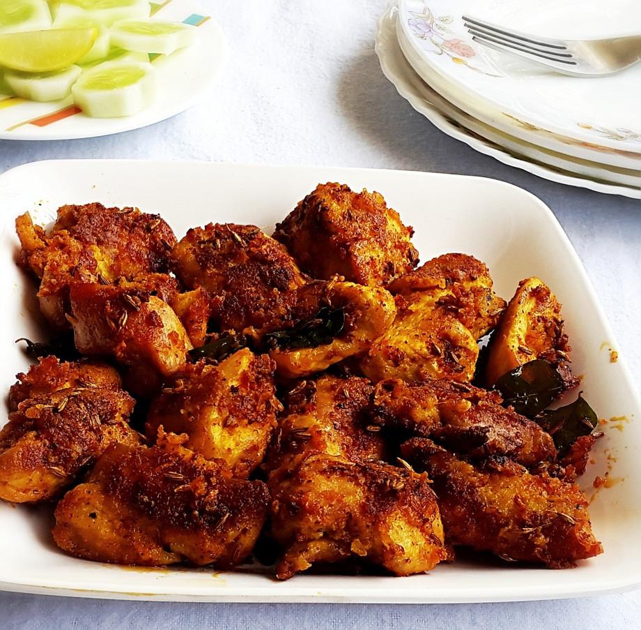 Chicken Indian Recipes  Chicken 65 recipe Indian spicy deep fried chicken My