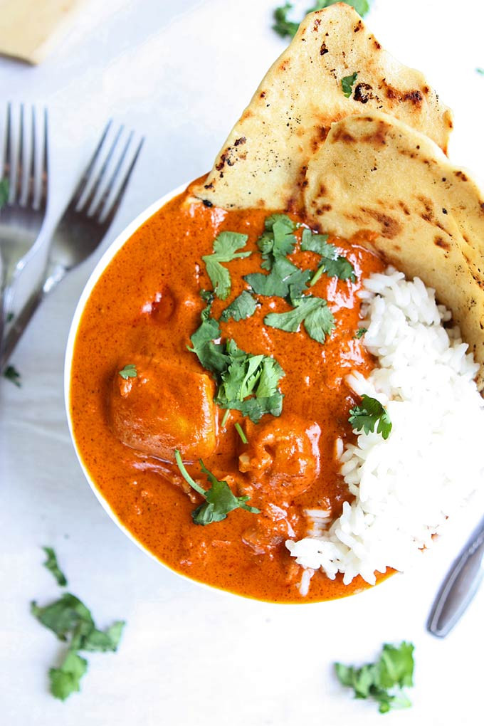 Chicken Indian Recipes  Indian Butter Chicken Recipe