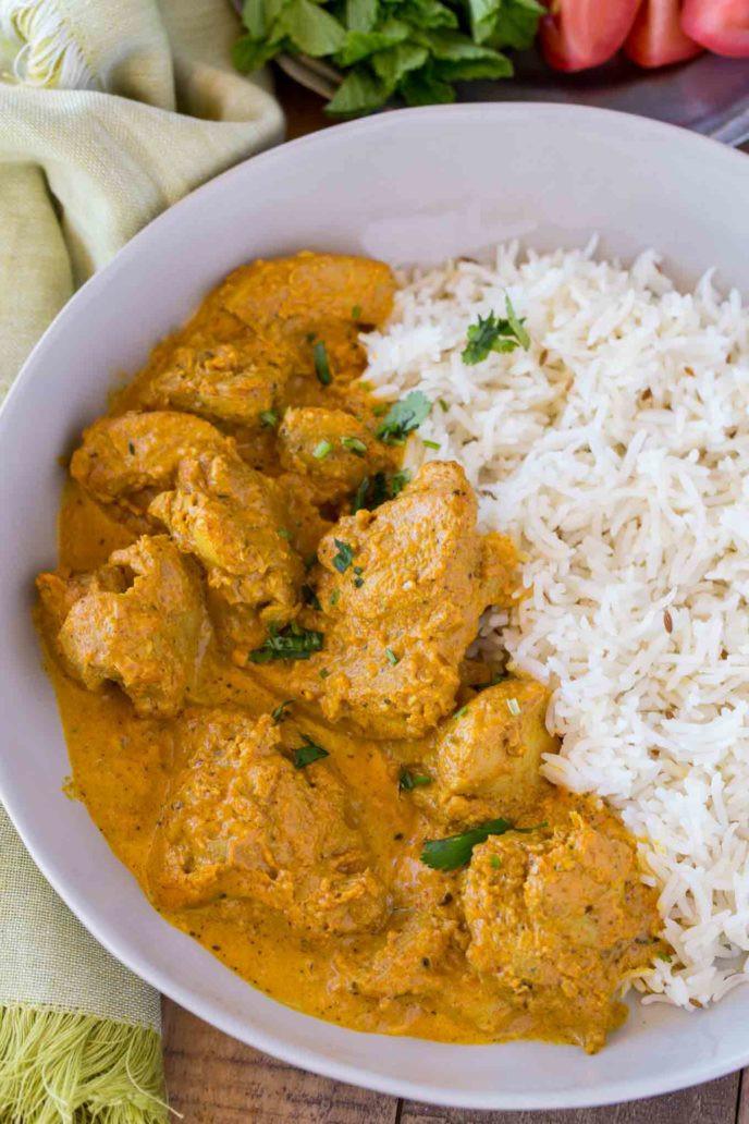 Chicken Indian Recipes  Indian Chicken Korma Dinner then Dessert
