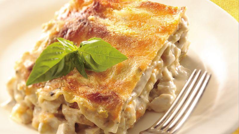 Chicken Lasagna Recipe  Creamy Chicken Lasagna Recipe BettyCrocker