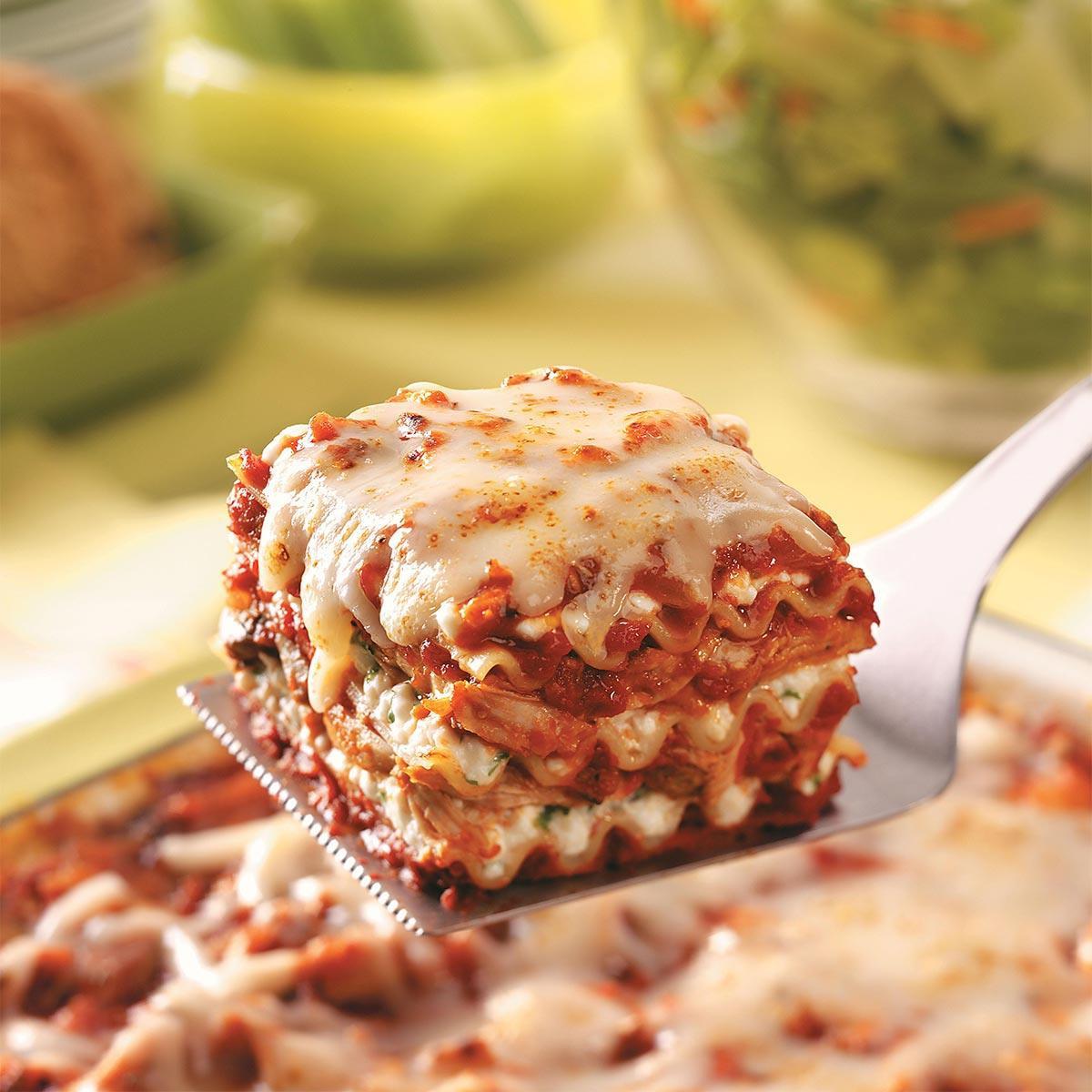 Chicken Lasagna Recipe  Hearty Chicken Lasagna Recipe